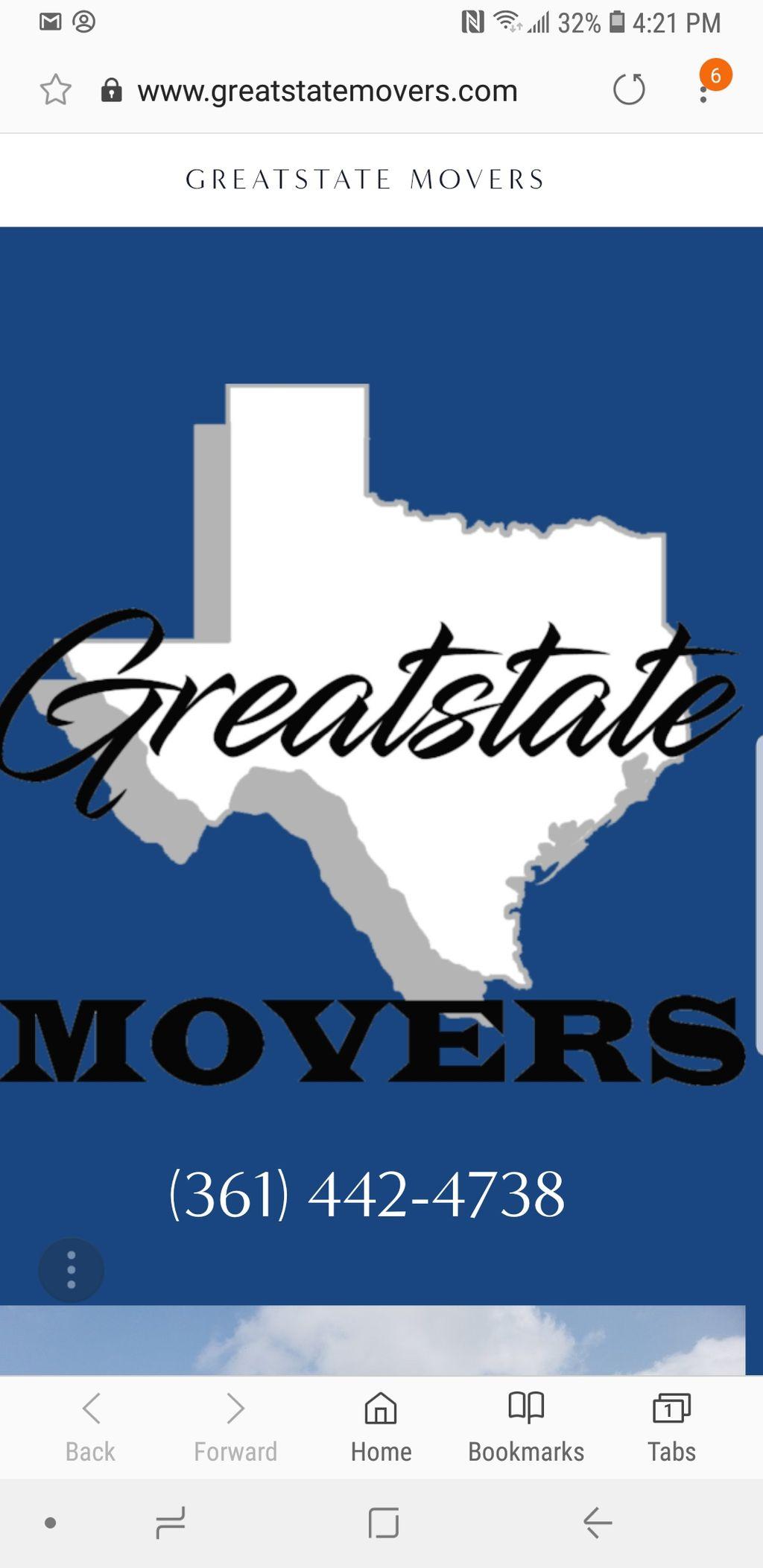 Greatstate movers