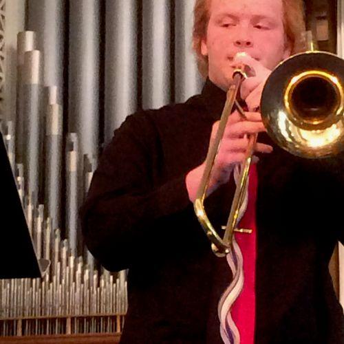 Senior Trombone Student Performs at the 2018 Spring Recitals