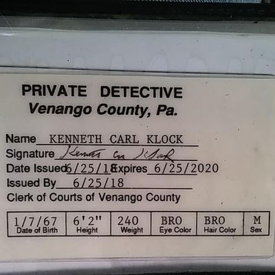 Avatar for Kenneth Carl Klock Private Detective Titusville, PA Thumbtack