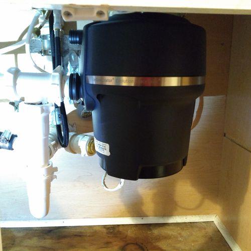 Install and Repair Garbage Disposals