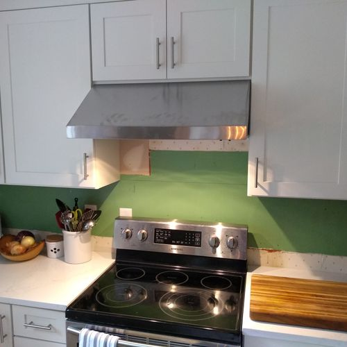 Appliance Install