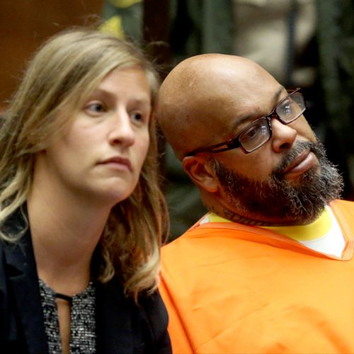 Sharon Appelbaum and Suge Knight