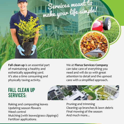 Fall Cleaning Flyer