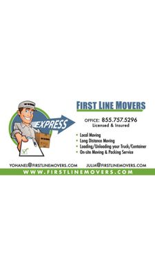 Avatar for First Line Movers Miami, FL Thumbtack