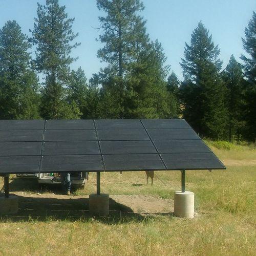 4 kW Solar Array install