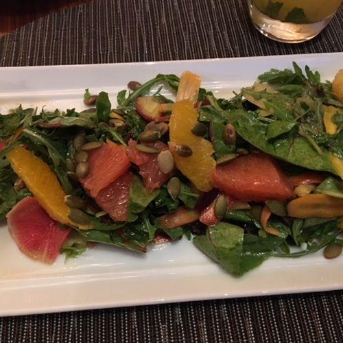 Beet/Grapefruit Salad