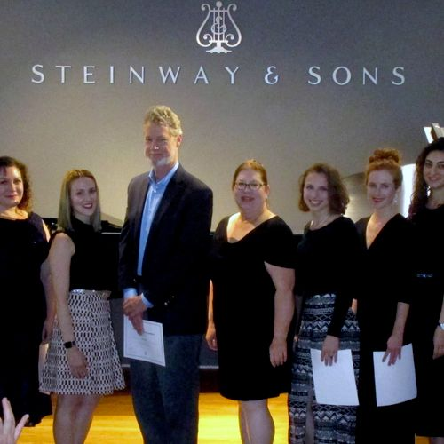 My students at our annual Recital at Steinway Hall, Beverly Hills