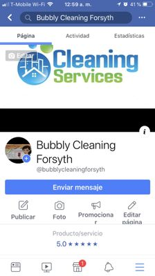 Avatar for Bubbly Cleaning Forsyth