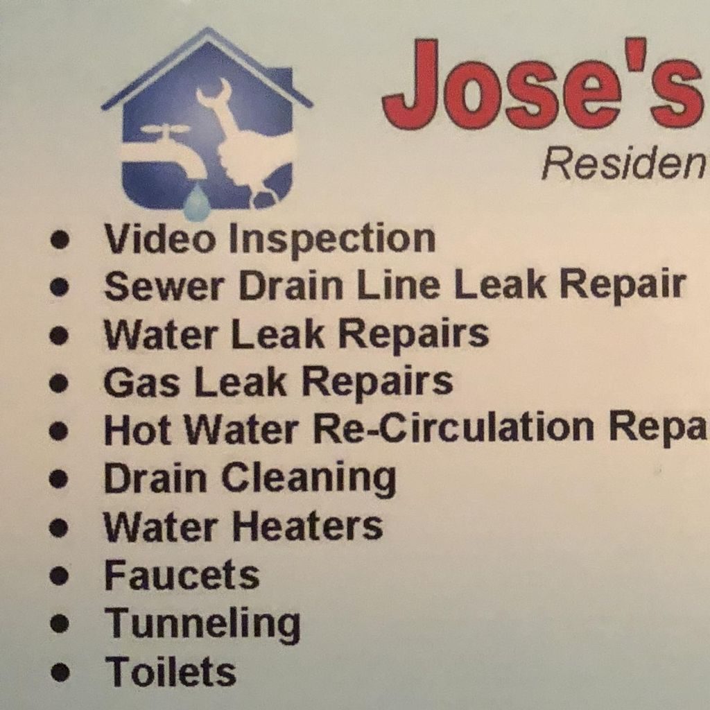 Jose Plumbing Residential And Commercial