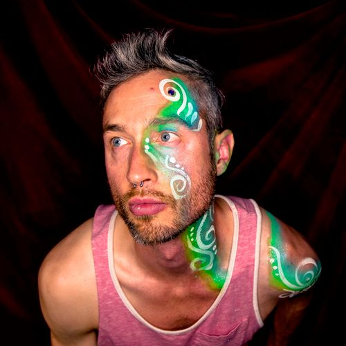 Party face and body painting