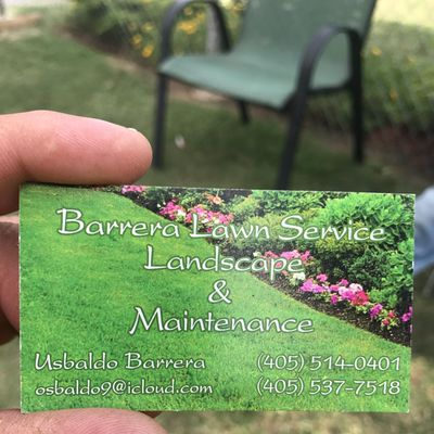 Avatar for Barrera Lawn Service Landscape & Maintenances LLC Oklahoma City, OK Thumbtack