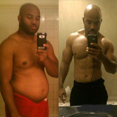 My transformation!