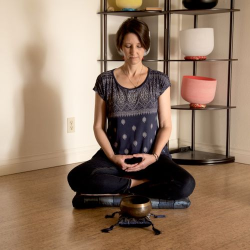 I provide step by step guidance in focusing and meditation.