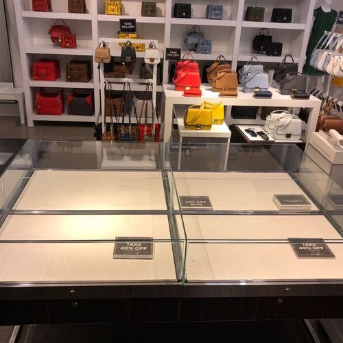 showcase glass replacement!
