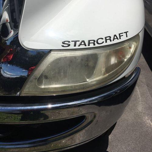 Before! headlight restoration