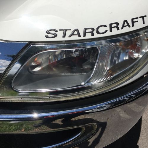Headlight restoration After!