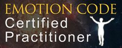 Certified Emotion Code Practitioner by Dr. Bradley Nelson Emotion Releasing for People and Pets.