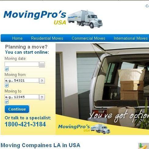 Moving Pro's USA