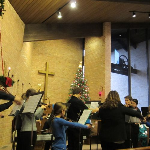 Selected True Note Studio students performing at St. John's, 12/9/12.