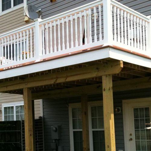 Deck in Rockville MD (after)
