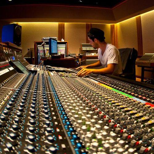 Mixing at TRI Studios