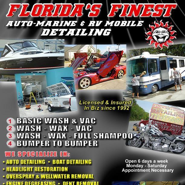 Florida's Finest Auto Marine RV & Motorcycle Mo...