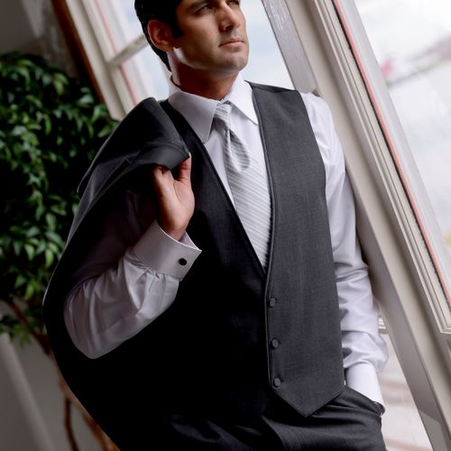 Ad photography for Romes Tuxedos in Metairie, Louisiana.