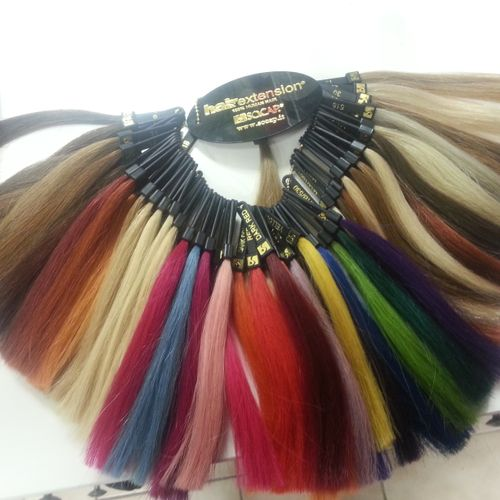 SoCap Hair Extensions.... Pop of color, length, volume.... Call for a consultation!!