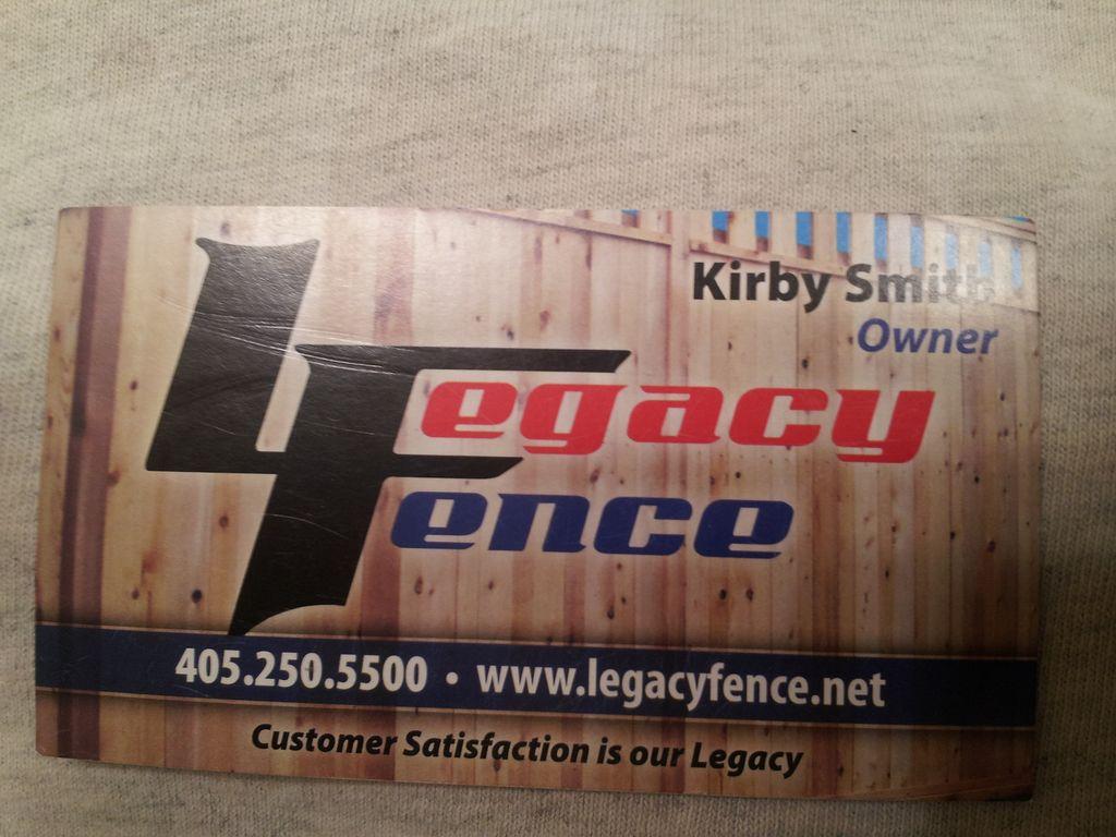 Legacy Fence
