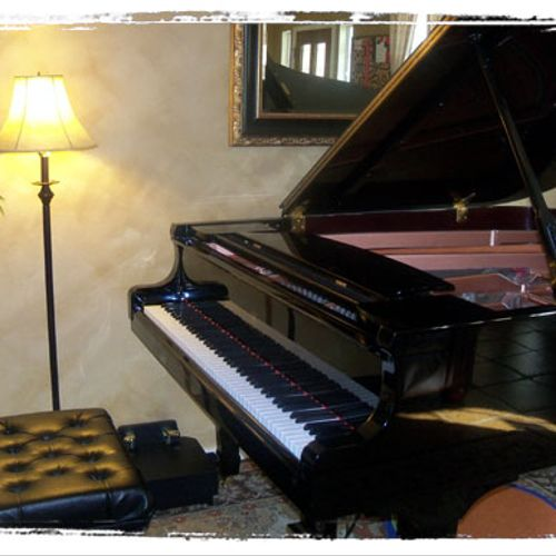 there's nothing like the touch and sound of a grand piano