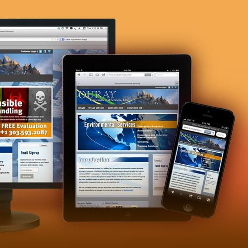 A complete web solution for Ouray Environmental Services. http://www.ourayservices.com/
