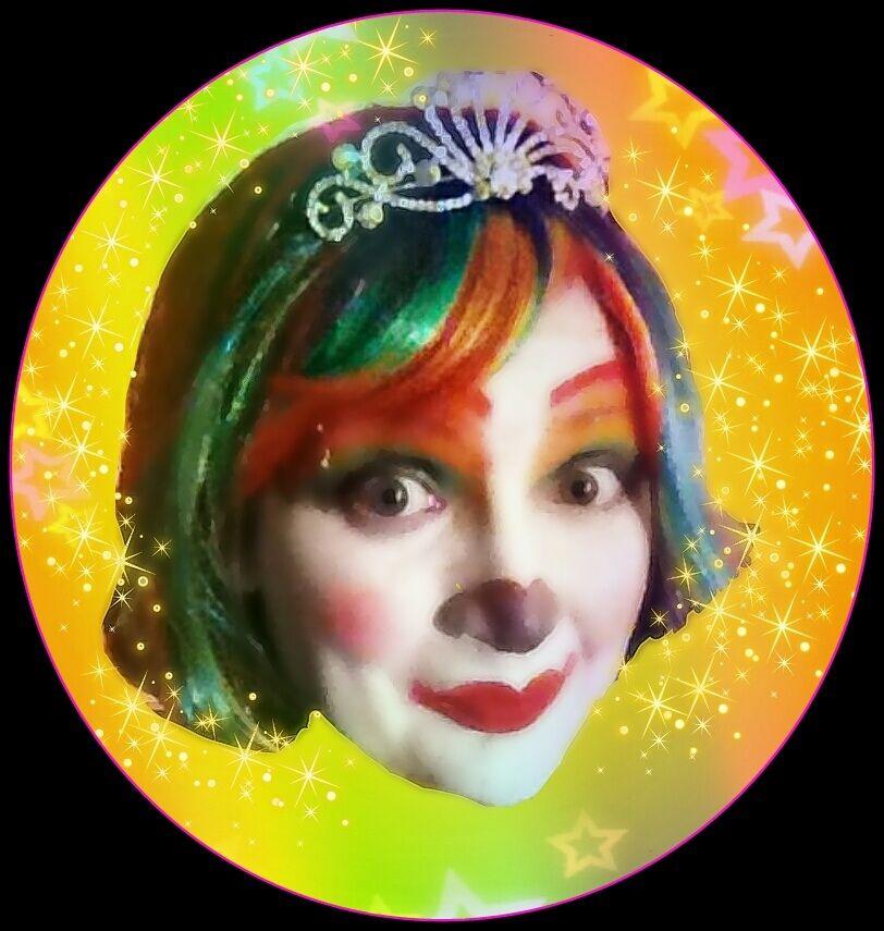 Rainbow Rose The Princess Clown