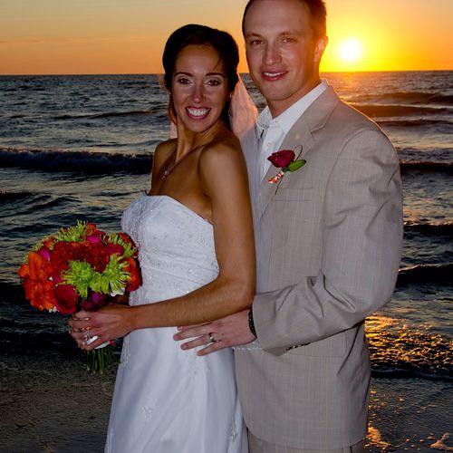 Wedding Photograpy - J & H on the beach