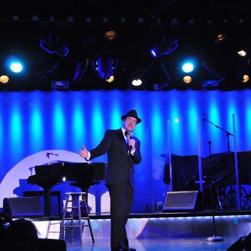 Matt at the Golden Nugget Showroom in Las Vegas!