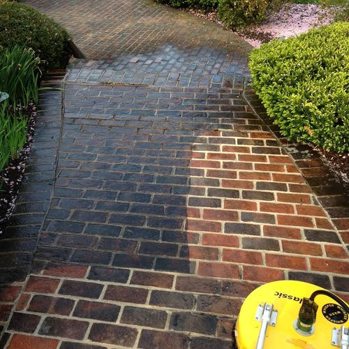 Allentown Pa patio power washing