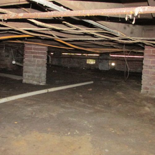 Crawlspace in 100 plus year old home in Madison