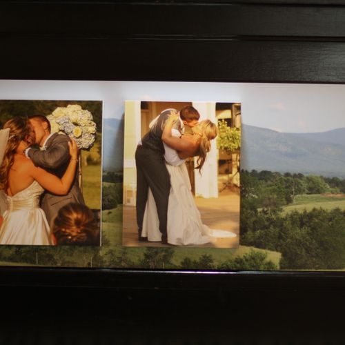 Artsy Couture Gallery Block - Wedding Present Dimensions: Overall 10x15 Each Block 8x10
