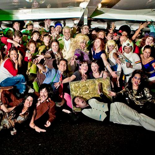 Solid Gold Disco Yacht Cruise Birthday for Dick Van Dyke!