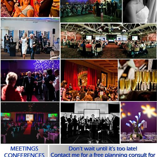 Power Meetings. Strategic Events. Business Managed.