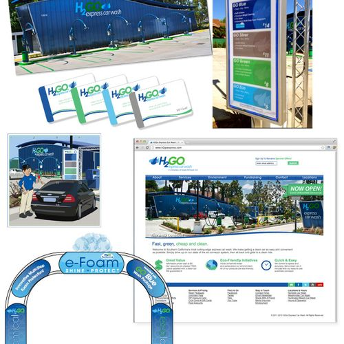 H2Go Express Car Wash. 3 Locations Southern California.
