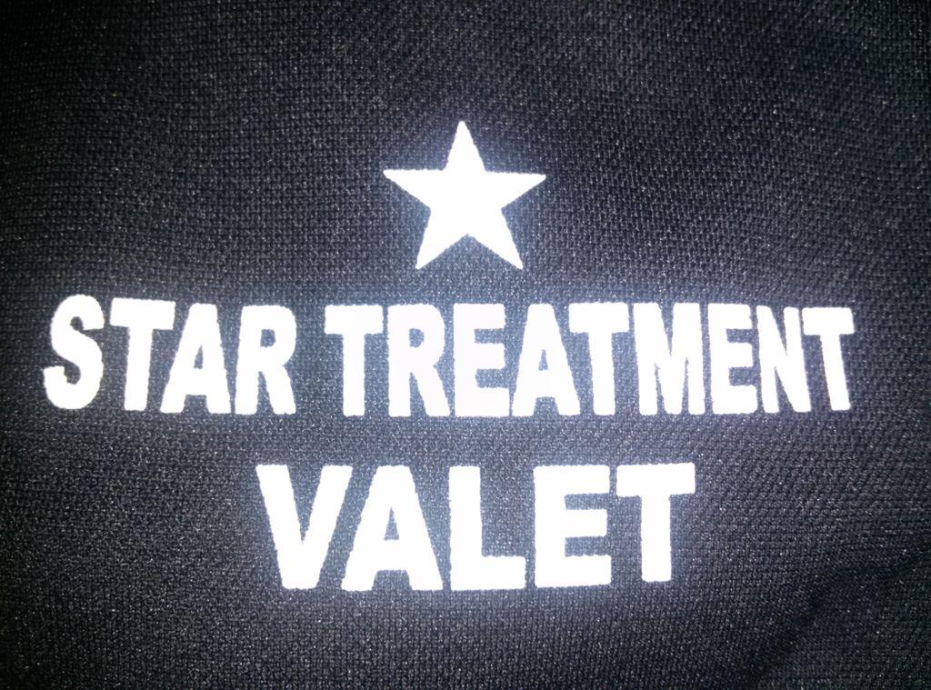 Star Treatment Valet