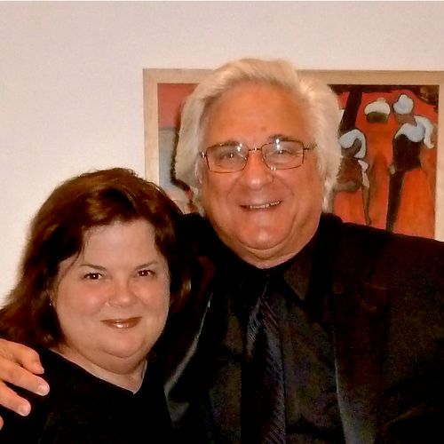 With Maestro Murry Sidlin, after a concert in Jerusalem, 2012