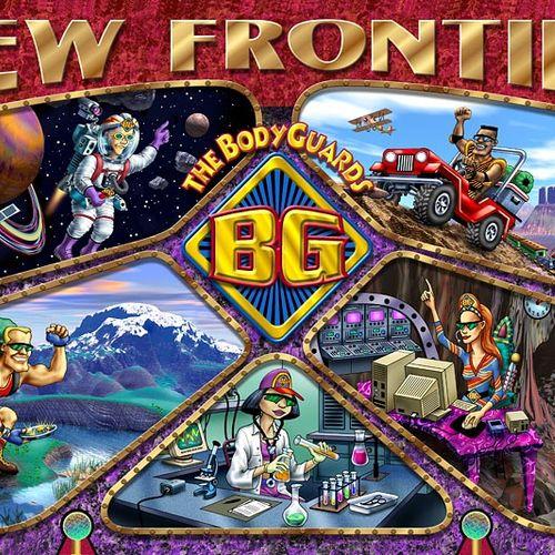 Illustration for The Bodyguards, a children's health program.