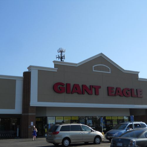 Giant Eagle Fairview Park New Roof