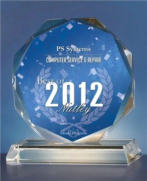 Awarded Best Computer Service and Repair Company 2012