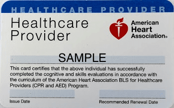 BLS renewal classes in Marin County