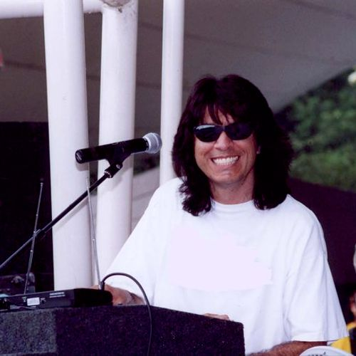 Playing live at a Summertime Concert