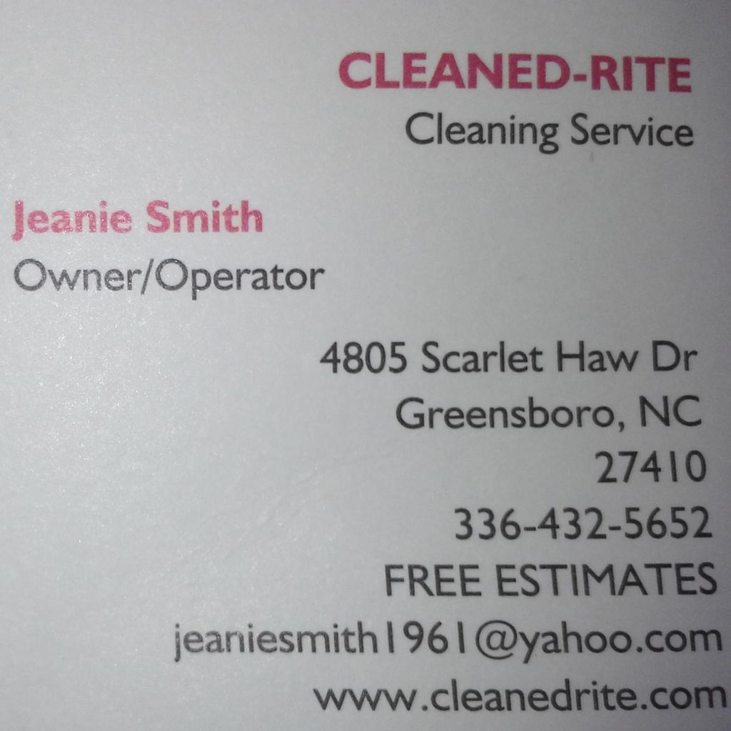 Cleaned-Rite Cleaning Service