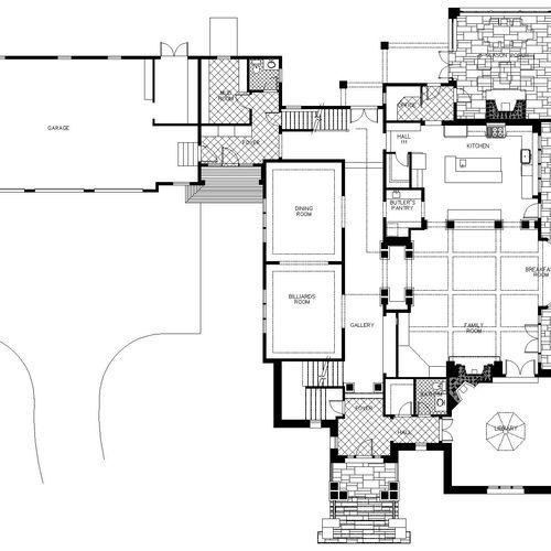 Single Family Residence, Dover, MA >5,000sf Custom Home (2006)