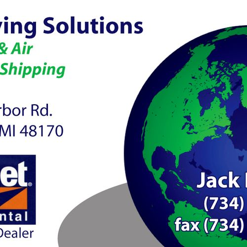 All Moving Solutions Business Card
